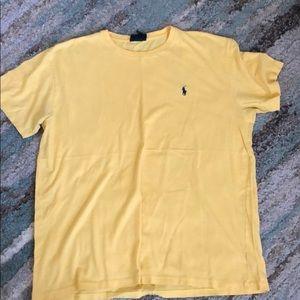 {polo by Ralph Lauren} yellow t-shirt